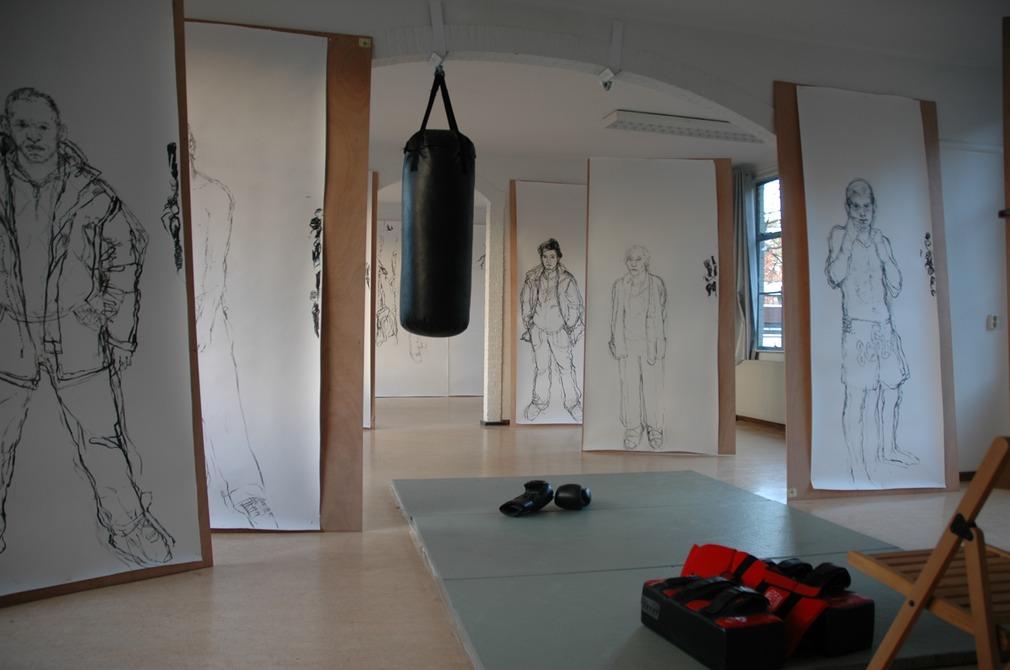 Jikke van Loon over 'Dividing Lines' & workshop Beeldvorming