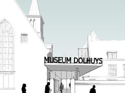 Veenlaan & Bouwstra geselecteerd voor verbouwing Dolhuys