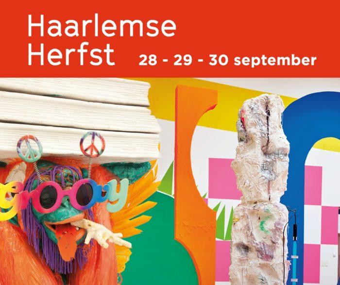 Een 'installatie over de geest' tijdens Haarlemse Herfst 1