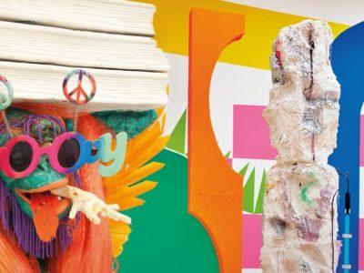 Een 'installatie over de geest' tijdens Haarlemse Herfst 2