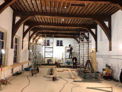 Dolhuys opent deuren tijdens restauratie