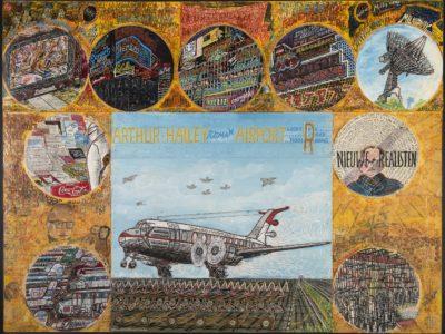 Willem van Genk, Airports III Garuda Indonesia, Outsider Art Museum