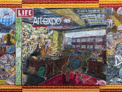 Willem van Genk, Collage 2000 Beljon Inc., Outsider Art Museum