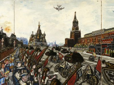 Willem van Genk, 1 mei Parade, Outsider Art Museum