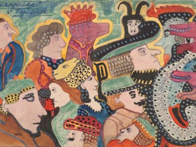 August Klett – Prinzhorn Collectie