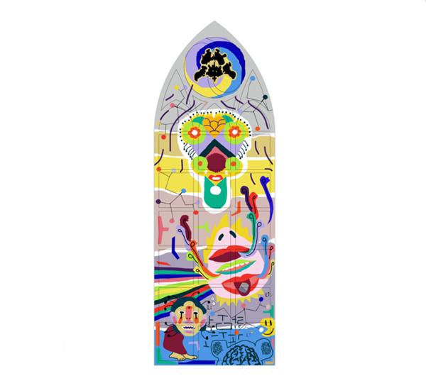 Permanent kunstwerk als symbool voor de menselijke geest 2