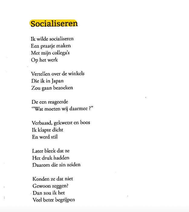 Socialiseren - Birsen Basar