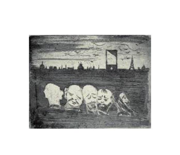Le Châtiment Guillotine - Paul Ferdinand Gachet 3