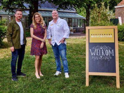 Vanaf 1 september te zien: televisieprogramma Restaurant Misverstand in museumcafé Thuys 3